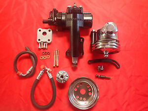1955 1956 1957 CHEVROLET POWER STEERING CONVERSION SMALL BLOCK SIDE MOTOR MOUNT