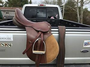 17 Inch All Purpose English Saddle