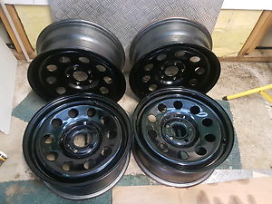 Steel Rims 17x7 | 5x120 stud pattern to suit LAND ROVER, AMAROK Grange Charles Sturt Area Preview