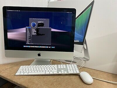 iMac 21.5 Quad Core i5 A1418 Slim 250GB SSD Apple keyboard 6 Month warranty 2014