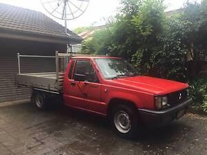 1992 Mitsubishi Triton Ute Aluminium Tray Chatswood Willoughby Area Preview
