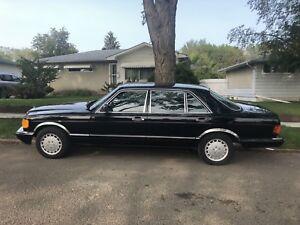 1986 Mercedes 560 SEL