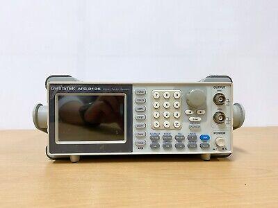 Gw Instek Afg-2125 Arbitrary Function Generator