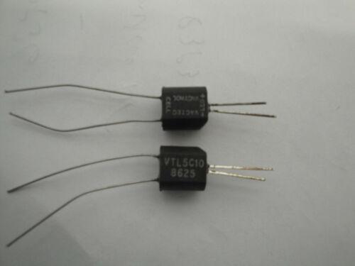 2 Ea VacTec Vactrol VTL5C10 LDR Opto-Coupler USA