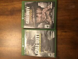 Call of duty infinite warfare and call of duty WWII