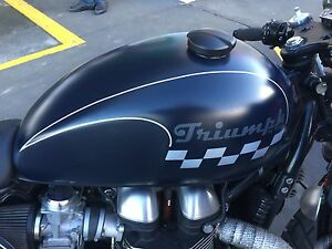 Triumph Thruxton Delacombe Ballarat City Preview