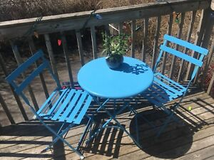 Patio set (3 piece)