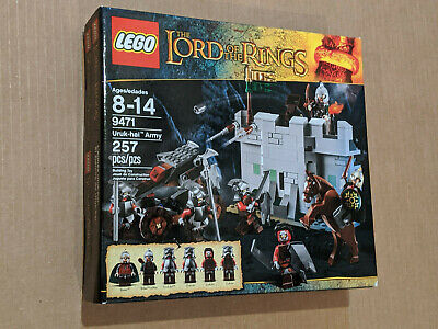 Lego 9471 Lord of the Rings Uruk-Hai Army New Retired