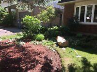 Landscaping ,Yard Work, Gardening