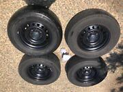 4 Tyres & 4 Stock Rims - Toyota Hilux Harrison Gungahlin Area Preview