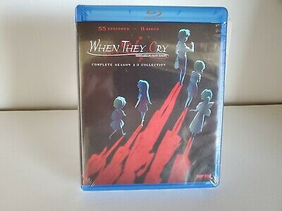 When They Cry: Complete Collection - Seasons 1-3 (Blu-ray Disc, 2017) New Anime  - 2017 Animated Movies