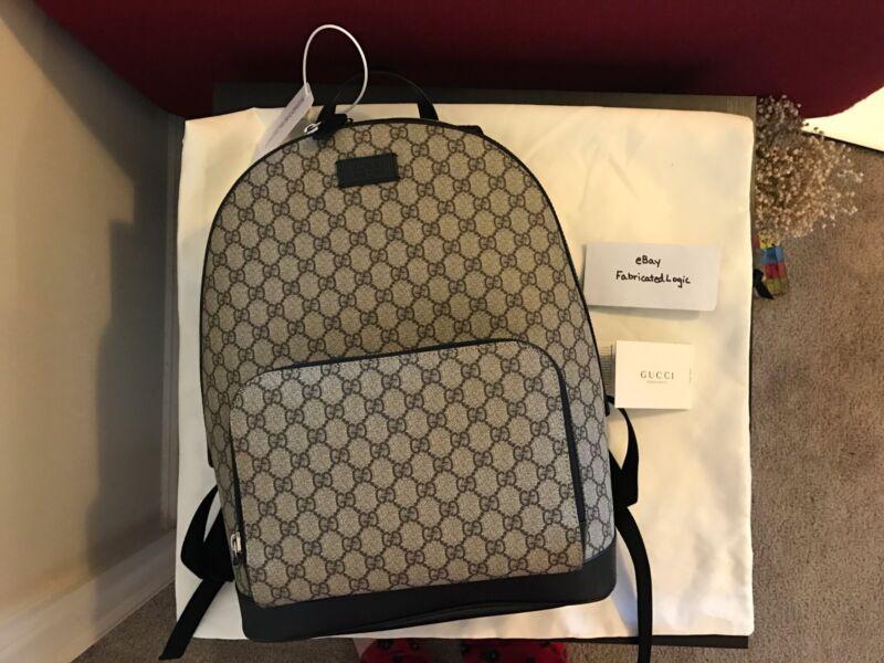 Купить Gucci Eden GG Supreme Canvas Backpack Beige NWT на eBay.com ... a924434015f7d