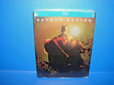 Batman Begins (Blu-ray, Steelbook 2013) BRAND NEW, FREE SHIPPING!!!