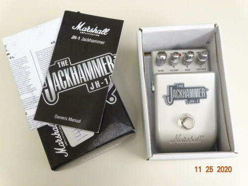 Marshall JH-1 Jackhammer Distortion Guitar Effect Pedal w Box