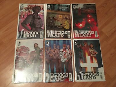 Briggs Land #1 2 3 4 5 6 COMPLETE SET (2016 Dark Horse) - FUTURE TV SHOW!  NM!
