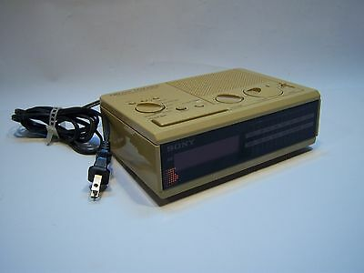 Vintage Sony Dream Machine AM/FM Radio Alarm Clock