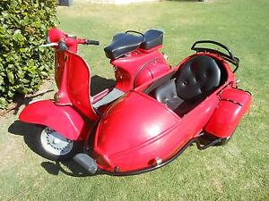 1964 Vespa VBB with sidecar Greenwood Joondalup Area Preview