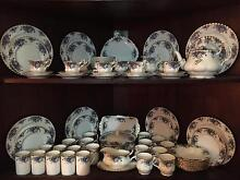 Royal Albert Moonlight Rose complete 83 piece dinner service Brisbane City Brisbane North West Preview