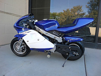 High Performance Honda clone  4 Stroke 40cc Blue Pocket Bike