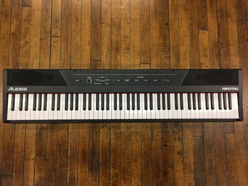 Alesis Recital Digital Piano/keyboard With 88 Semi Weighted