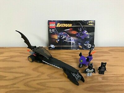 Lego Batman 7779 - The Dragster Catwoman Pursuit 100% complete with instructions