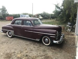 1950 Chrysler Windsor *A MUST SEE, rust free*
