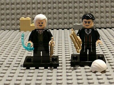 """NEW 2018 LEGO - Lot of 2 Minifigures """"Grindlewald"""" & """"Percival Graves"""""""
