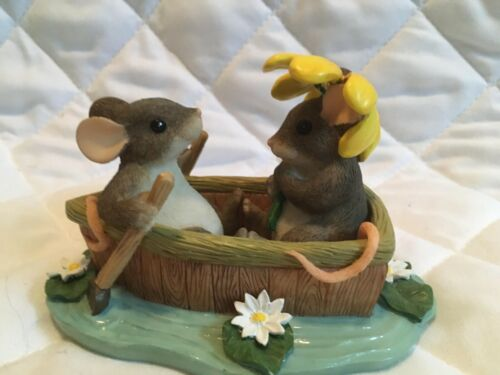 CHARMING TAILS - ROWBOAT ROMANCE - Cruise Version RARE ! Free Shipping