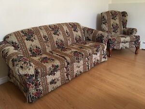 Matching Living Room Set - Couch & Chair