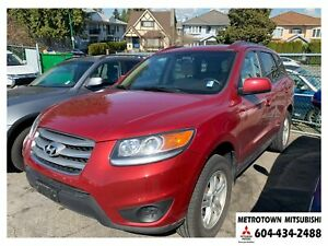 2012 Hyundai Santa Fe GL 2.4; Local one owner vehicle!