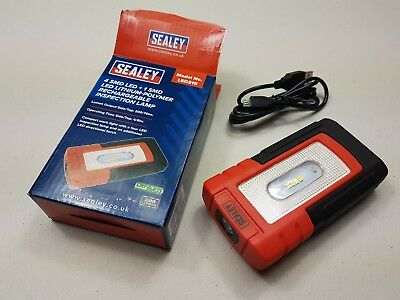 Sealey LED319 Lithium Rechargeable LED Inspection Lamp. Puck Torch.