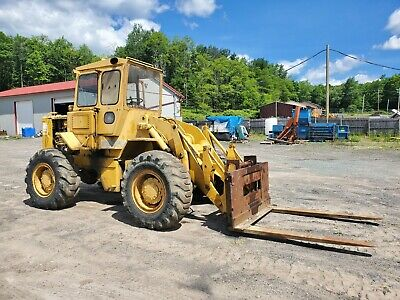 Cat 930 Wheel Loader W 6 Forks And Bucket Video
