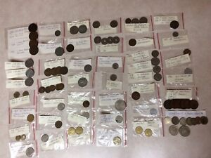 Coins Bills Currency Money Cash Antique Vintage