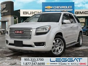 2016 Gmc Acadia DENALI/NAV/SUNROOF/20 CHROME & SNOWS/HUD
