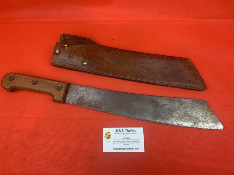Original WW1/WW2 Era French Coup Coup Colonial Machete Dagger Sword Knife RARE