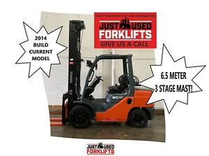 TOYOTA 8FG30 60151 2.5 TON 3500 KG CAPACITY LPG GAS FORKLIFT 6500 MM 3 STAGE DELUXE   Strathfield Strathfield Area Preview