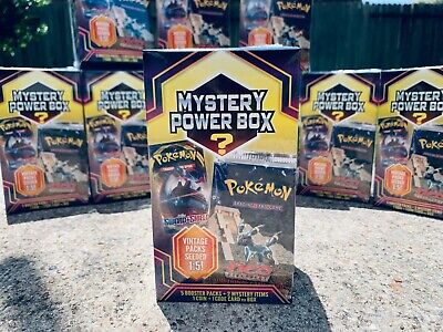 NEW Pokemon Mystery Power Box NEO DISCOVERY PACK Vintage Packs 1:5 Sealed 2020