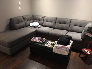 6 month old sectional