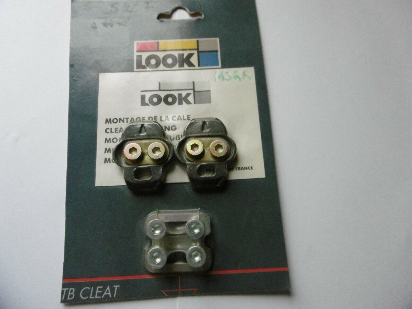 Look MTB Pedal Cleat S2 Black Made In France New In Bag