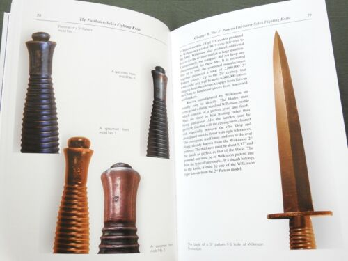 """FAIRBAIRN-SYKES FIGHTING KNIFE"" BRITISH WW2 COMMANDO DIRK DAGGER REFERENCE BOOK"