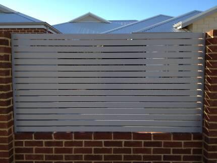 DIY Aluminium Fencing