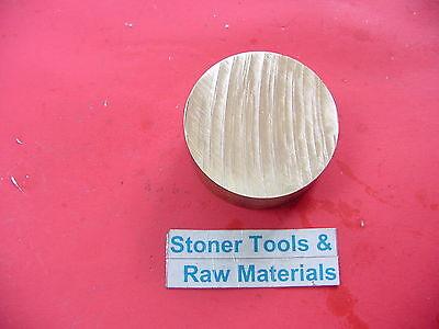 2 C360 Brass Round Rod 1 Long Solid H02 Lathe Bar Stock 2.00 Od