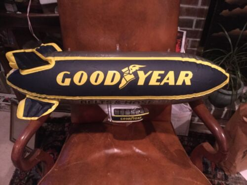 """Goodyear Tire Belts & Hose Inflatable Blimp Blow Up Advertising Dirigible 32"""""""