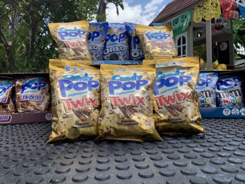 CANDY POP POPCORN TWIX - 5.25 oz - Limited Edition
