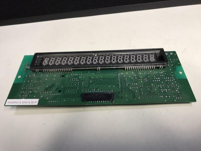 Ishida Scale PCB Board 00100157 PK-200A with Ishida Display