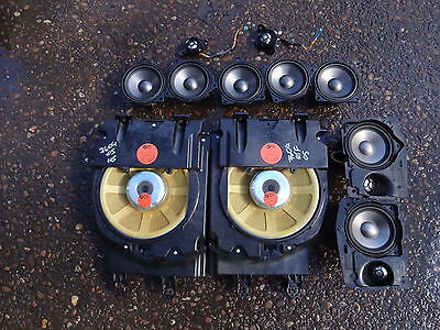 2005 BMW 7 series E66 E65 LWB Logic 7 hifi top quality speakers set of 11