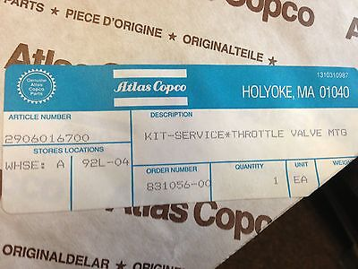 Atlas Copco Air Compressor Throttle Valve Replacement Kit Part 2906-0167-00