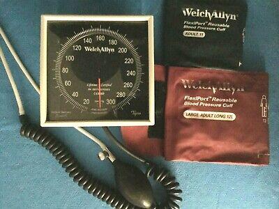 Welch Allyn Sphygmomanometer Set W Head Swivel Basket Flexiport Connect Dkp