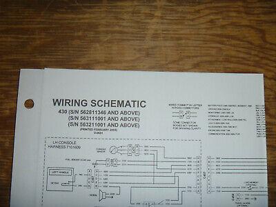 Bobcat 430 Excavator Electrical Wiring Diagram Schematic Manual Sn 562811346 Up