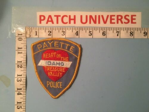 VINTAGE PAYETTE IDAHO  POLICE SHOULDER  PATCH  N005
